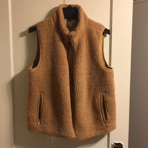 Gorgeous golden honey J.crew vest